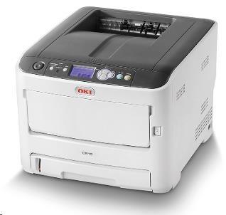 Oki C612dn A4 36/34 ppm ProQ2400 dpi, PCL, USB, LAN, Duplex, 256MB RAM (46551002)