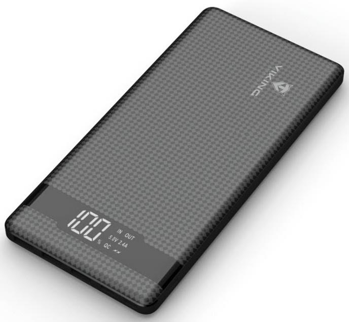 VIKING Power bank PINENG PN-961 QC3.0 10000 mAh, černá