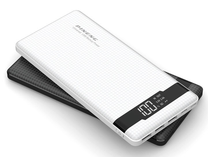 VIKING Power bank PINENG PN-962 QC3.0 20000 mAh, bílá