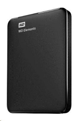 "WD Elements Portable 2TB Ext. 2.5"" USB3.0, Black (WDBU6Y0020BBK-WESN)"