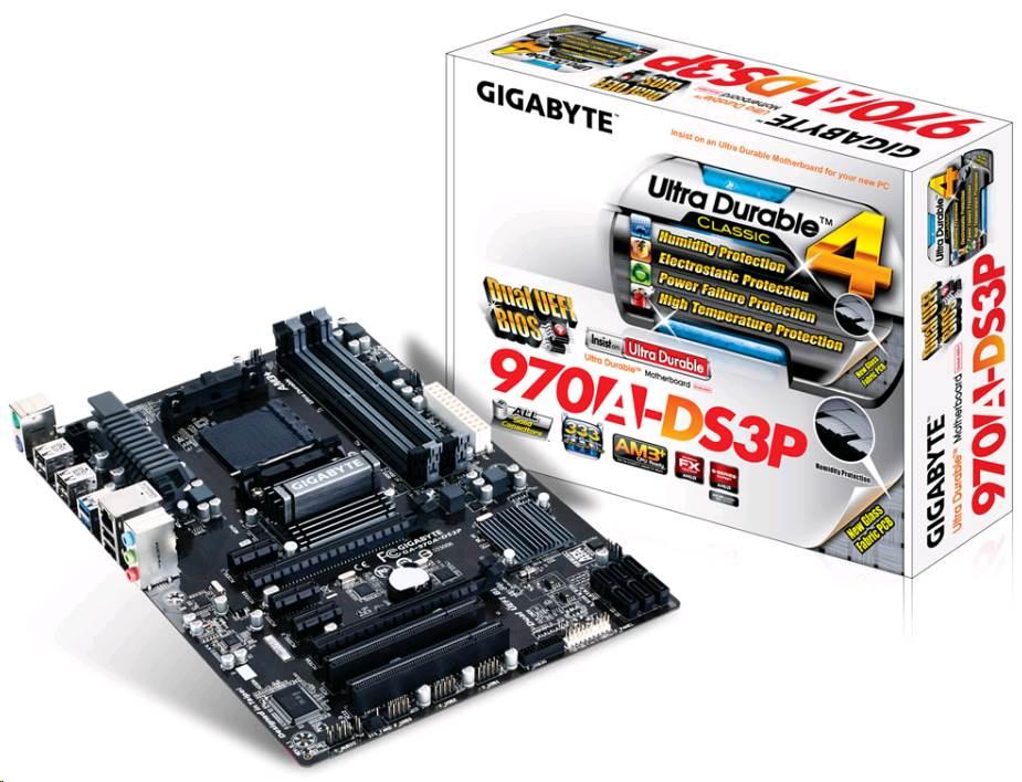 GIGABYTE MB Sc AM3+ 970A-DS3P, AMD 970, 4xDDR3 (GA-970A-DS3P)
