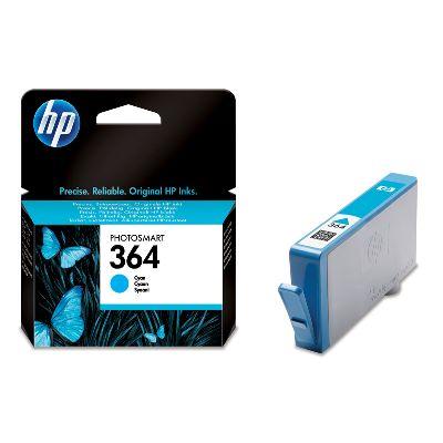 HP 364 Cyan Ink Cart, 3 ml, CB318EE (CB318EE#BA3)