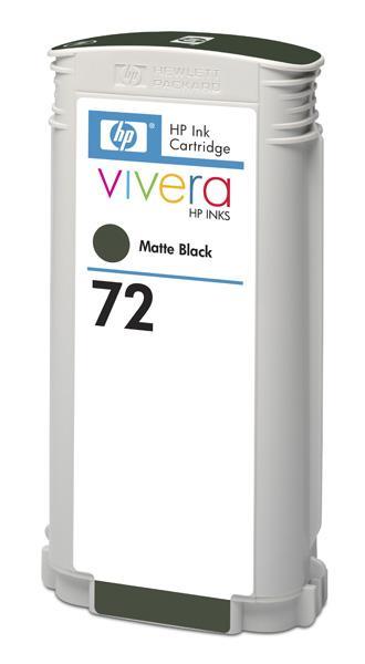 HP 726 Black matte DJ Ink Cart, 300 ml, CH575A