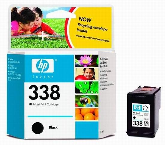 HP 338 Black Original Ink Cartridge