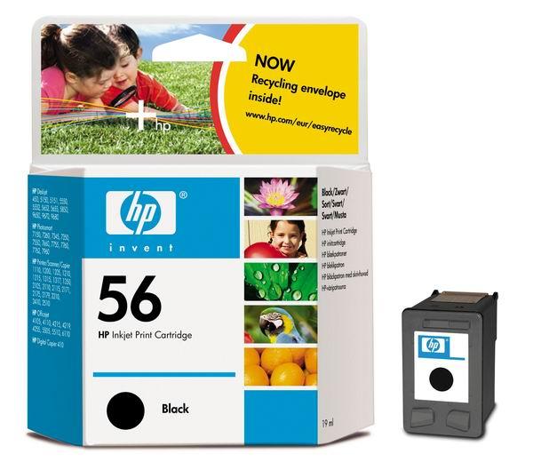 HP 56 Black Original Ink Cartridge