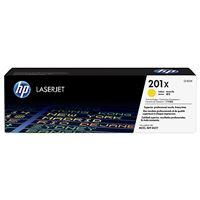 HP 201X High Capacity Yellow LJ Toner Cartridge, CF402X