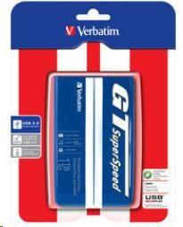 "VERBATIM HDD 2.5"" 1TB GT SUPERSPEED USB 3.0 modrá/bílá (53083)"