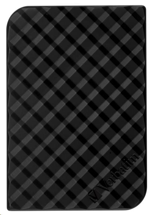 "VERBATIM HDD 2.5"" 500GB Store 'n' Go Portable Hard Drive USB 3.0, Black GEN II (53193)"