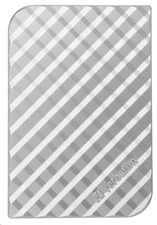 "VERBATIM HDD 2.5"" 500GB Store 'n' Go Portable Hard Drive USB 3.0, Silver GEN II (53196)"