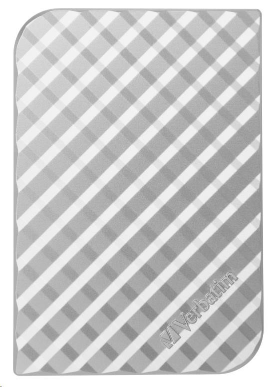 "VERBATIM HDD 2.5"" 2TB Store 'n' Go Portable Hard Drive USB 3.0, Silver GEN II (53198)"