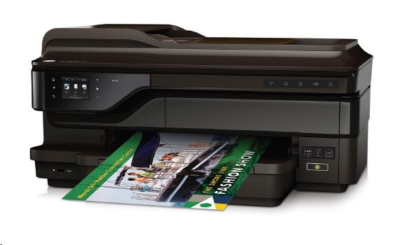 HP All-in-One Officejet 7612A Wide ePrint (A3+, 15/8 ppm A4, USB, Ethernet, Wi-Fi, Print/Scan/Copy/FAX, Duplex) (G1X85A#A80)
