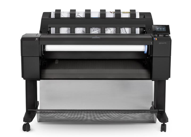 "HP DesignJet T930ps 36"" Printer - HDD (A0+, USB 2.0, Ethernet, HDD)"