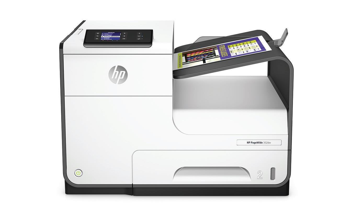 HP PageWide 352dw Printer (A4, 30 ppm, USB 2.0, Ethernet, Wi-Fi) (J6U57B#A81)