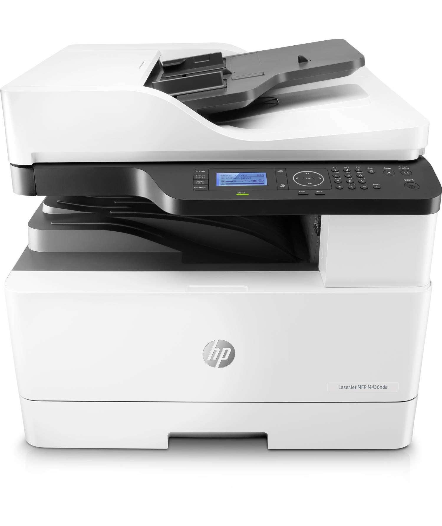 HP LaserJet MFP M436nda (A3, 23/12 ppm A4/A3, USB, Ethernet, Print/Scan/Copy, Duplex, ADF) (W7U02A#B19)