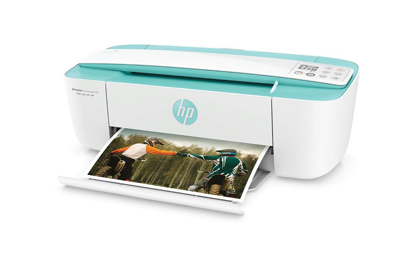 HP All-in-One Deskjet Ink Advantage 3785 - Seagrass (A4, 8/5,5 ppm, USB, Wi-Fi, Print, Scan, Copy) - Poškozený BOX