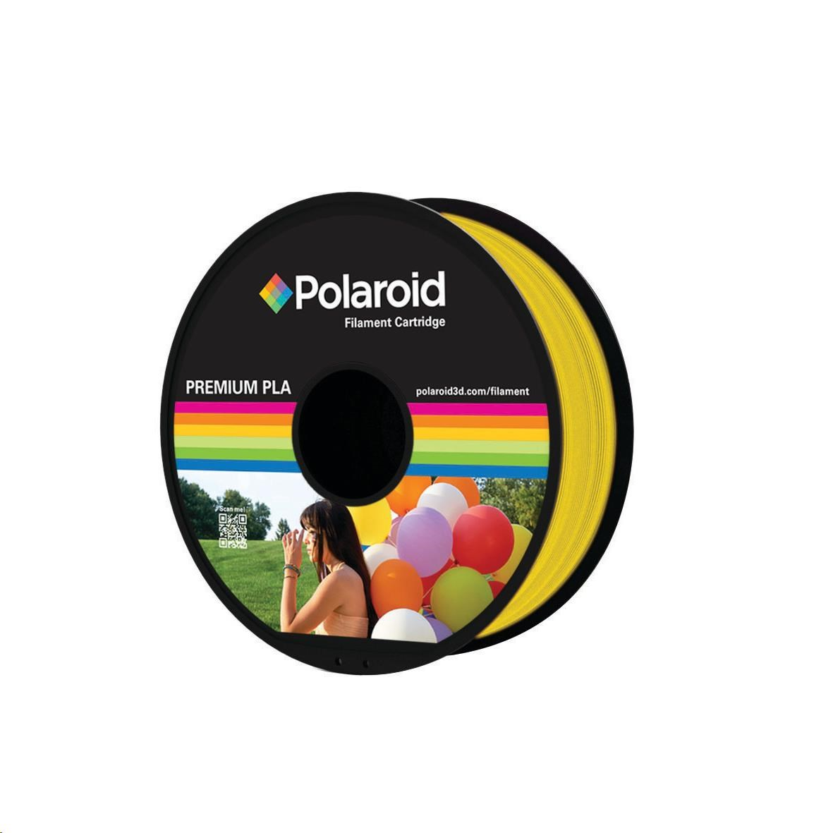 Polaroid 1kg Universal Premium PLA filament, 1.75mm/1kg - Yellow