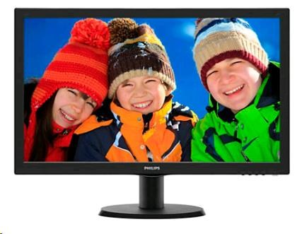"Philips MT LED 21,5"" 223V5LSB2- 1920x1080, 200cd/m, 5ms, 10mil:1, D-Sub, (223V5LSB2/10)"