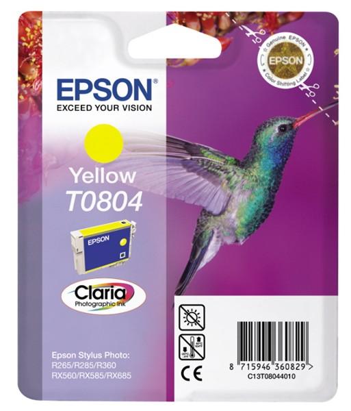 EPSON ink bar CLARIA Stylus Photo R265/ RX560/ R360 - yellow (C13T08044011)