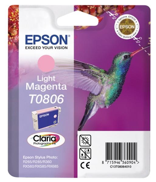 EPSON ink bar CLARIA Stylus Photo R265/ RX560/ R360 - light magenta (C13T08064011)