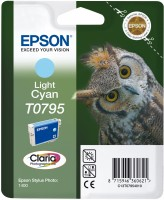 EPSON ink bar Stylus Photo R1400 - Light cyan (C13T07954010)