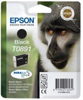 EPSON ink čer Stylus S20/SX100/SX200/SX400 (T0891) - black (C13T08914011)