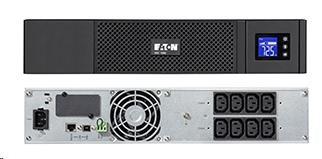 Eaton 5SC 1000i Rack 2U, UPS 1000VA / 700W, 8 zásuvek IEC, LCD (5SC1000IR)