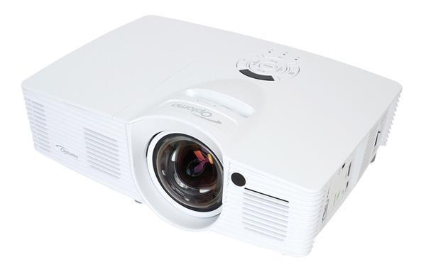 Optoma projektor GT1080e short throw (DLP, FULL 3D, 1080p, 3 000 ANSI, 25 000:1, 2x HDMI, MHL, 10W speaker) (95.8ZF01GC2E)