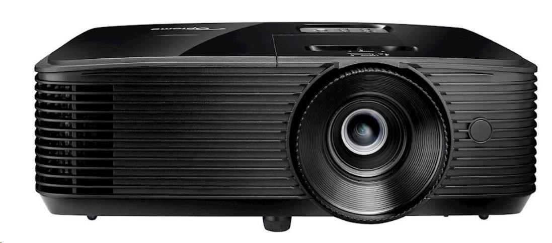 Optoma projektor HD143X (DLP, FULL 3D, 1080p, 3 000 ANSI, 23 000:1, 2x HDMI and MHL support and built-in 10W speaker) (E1P0A0UBE1Z1)