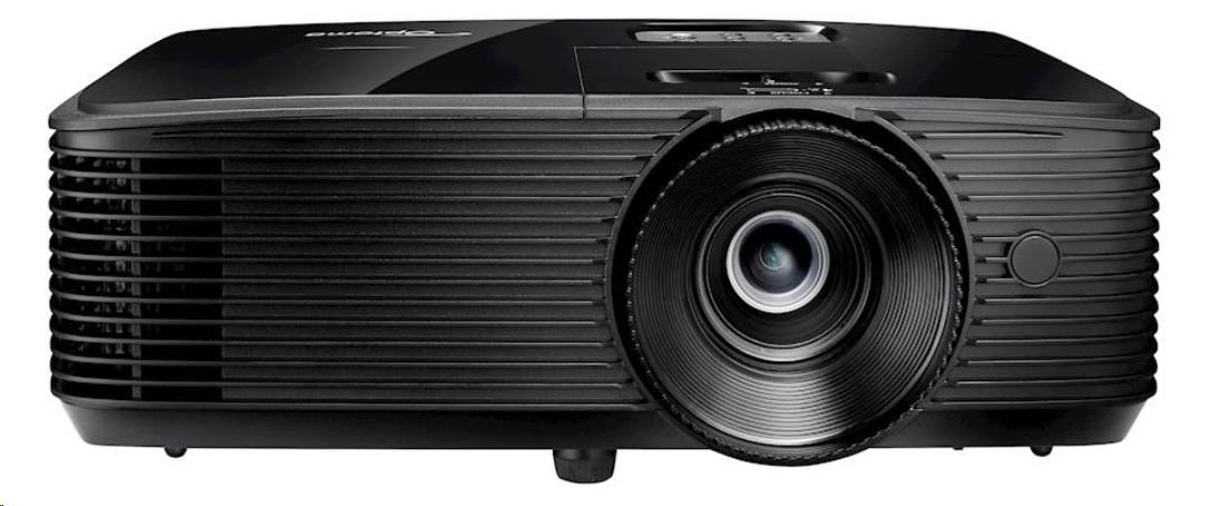 Optoma projektor HD144X (DLP, FULL 3D, 1080p, 3 200 ANSI, 23 000:1, HDMI and MHL support and built-in 10W speaker) (E1P0A0UBE1Z2)