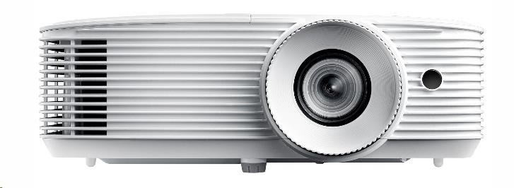 Optoma projektor HD27e white (DLP, FULL 3D, 1080p, 3 400 ANSI, 25 000:1, HDMI and MHL support and built-in 10W speaker) (E1P0A0UWE1Z1)