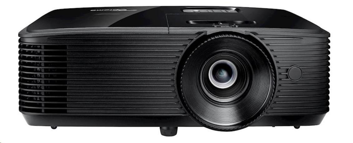 Optoma projektor DW318e (DLP, WXGA, 3 700 ANSI, 20 000:1, HDMI, VGA, Audio, USB, RS232, 10W speaker)
