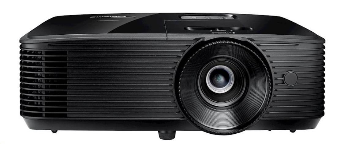 Optoma projektor S322e (DLP, SVGA, 3 800 ANSI, 22 000:1, VGA, USB)