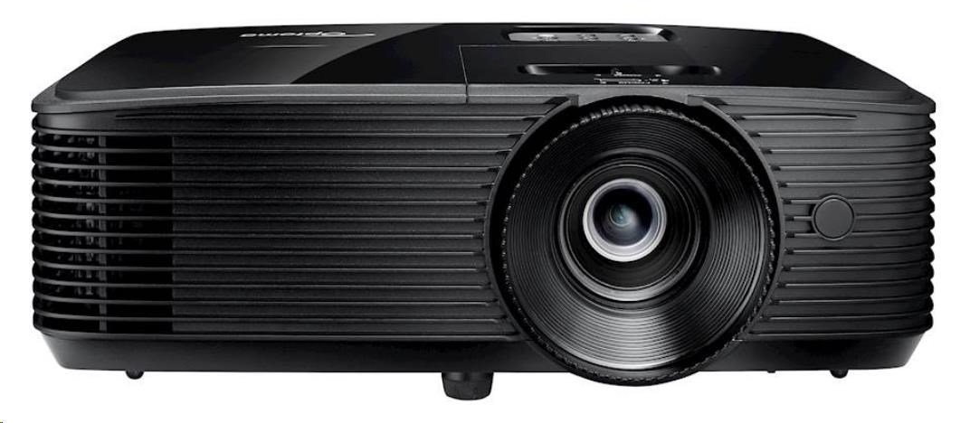 Optoma projektor H116 (DLP, WXGA, 3 800 ANSI, 30 000:1, HDMI, VGA, Audio, USB, RS232, 10W speaker)