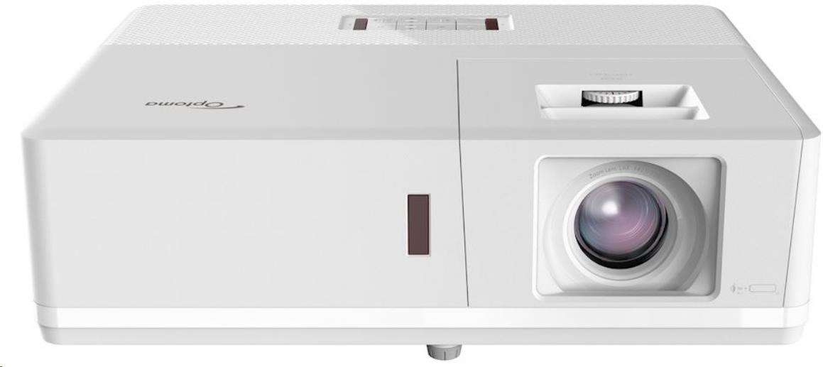 Optoma projektor ZH506 white (DLP, FULL 3D, Laser, FULL HD, 5 000 ANSI, 300 000:1, HDMI with MHL, USB, 2x10W speaker)