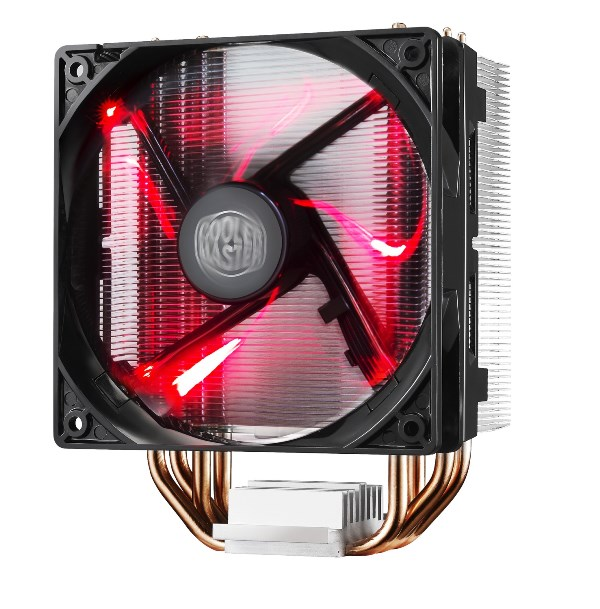 chladič Cooler Master Hyper 212 LED , univ. socket, 120mm PWM red LED fan (RR-212L-16PR-R1)