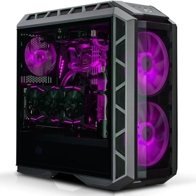case Cooler Master MasterCase H500P, ATX, černý, USB3.0, bez zdroje (MCM-H500P-MGNN-S00)