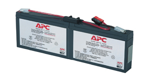 APC Replacement Battery Cartridge #18, PS250I ,PS450I, SC250RMI1U, SC450RMI1U (RBC18)