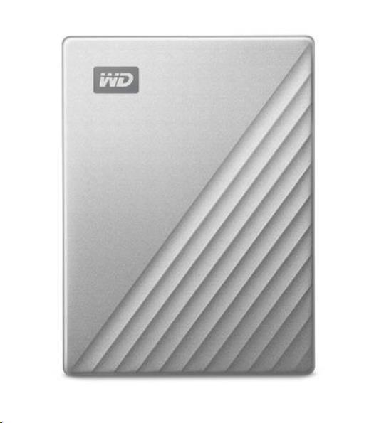 """WD My Passport ULTRA 2TB Ext. 2.5"""" USB3.0 Silver for MAC USB-C"""
