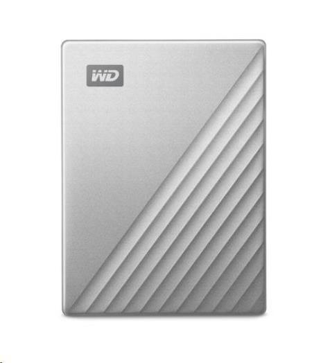 """WD My Passport ULTRA 1TB Ext. 2.5"""" USB3.0 Silver USB-C"""