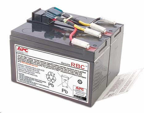 APC Replacement Battery Cartridge #48, SUA750, SUA750I, SMT750I (RBC48)