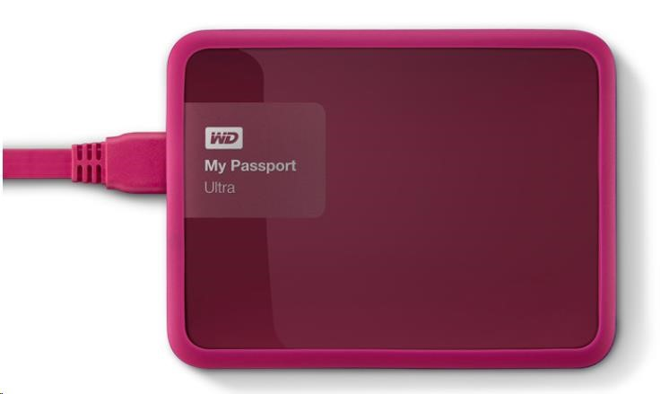 WD GRIP PICASSO 1TB POMEGRANATE (WDBZBY0000NPM-EASN)