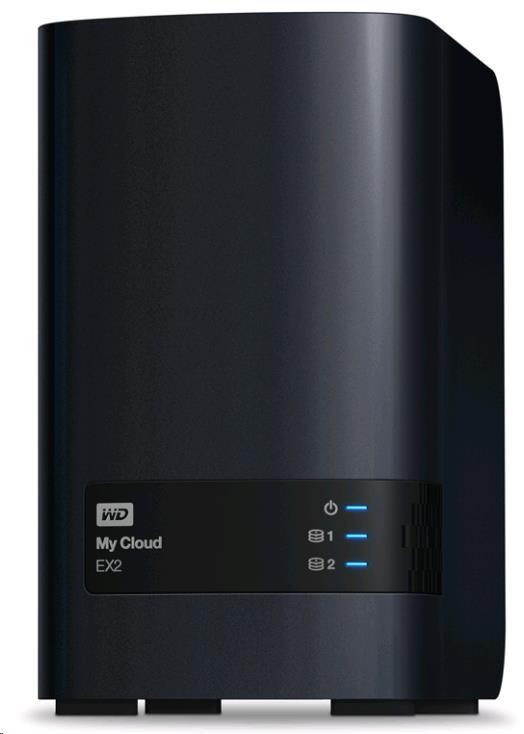 "WD My CLOUD EX 2 ULTRA, 6 TB (2x3TB) 3,5"", RJ45, NAS (WDBVBZ0060JCH-EESN)"
