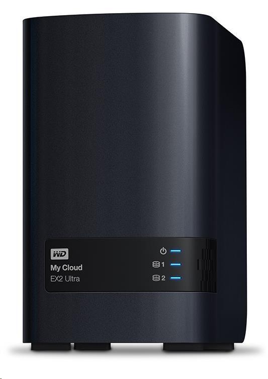 "WD My CLOUD EX 2 ULTRA, 12 TB (2x6TB) 3,5"", RJ45, NAS (WDBVBZ0120JCH-EESN)"