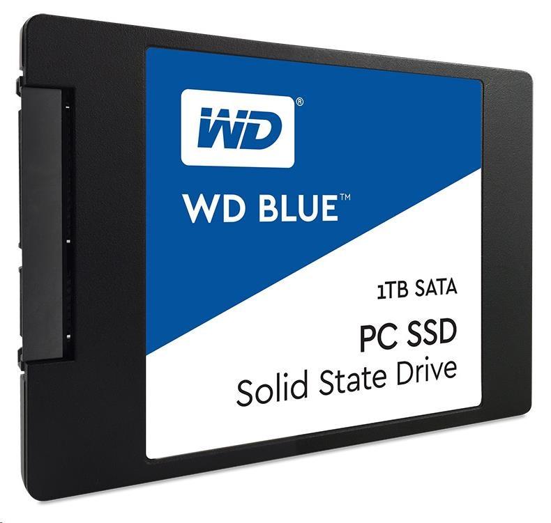 "WD BLUE SSD WDS100T1B0A 1TB SATA/600, (R:545, W:525MB/s), 2.5"""