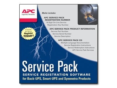 APC 1 Year Service Pack Extended Warranty (for New product purchases), SP-04 (WBEXTWAR1YR-SP-04)