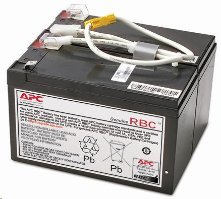 APC Replacement Battery Cartridge #109, BR1200LCDI, BR1500LCDI (APCRBC109)