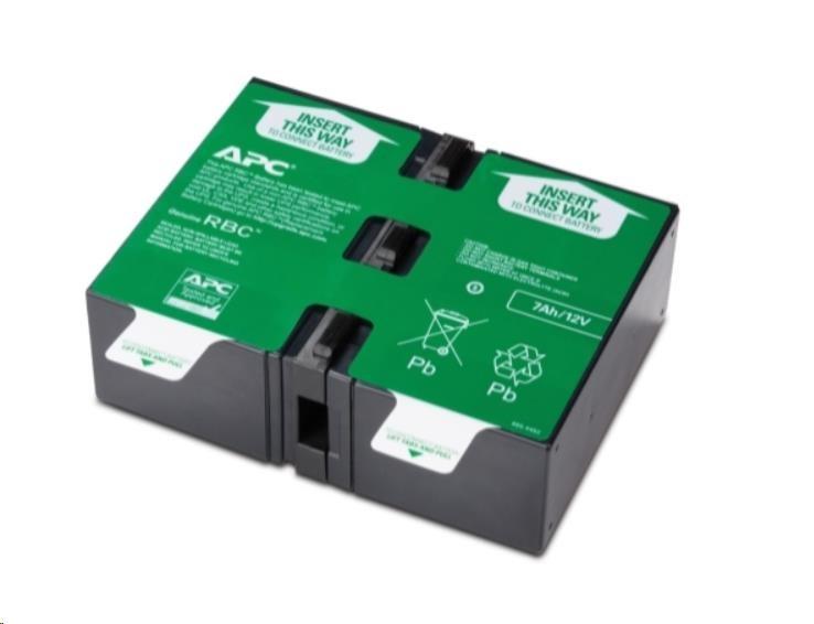 APC Replacement Battery Cartridge #123, BR900GI, BR900G-FR (APCRBC123)