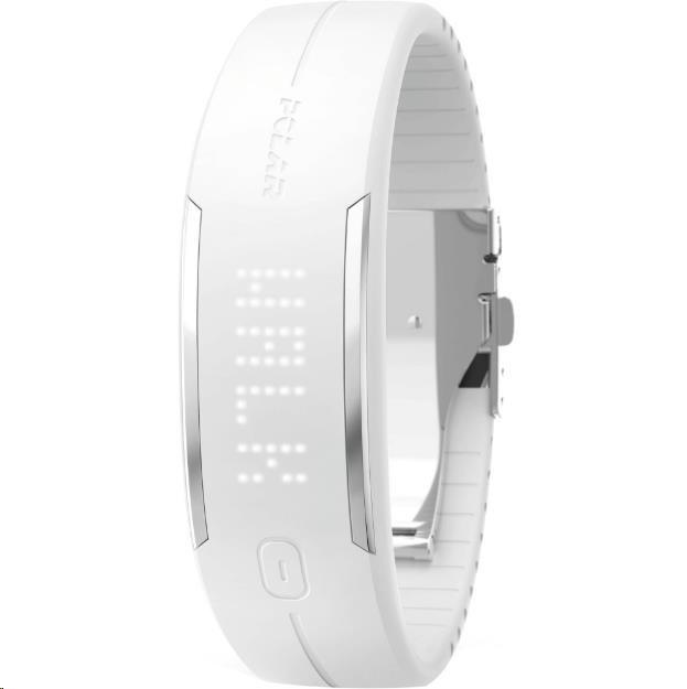 POLAR LOOP2 bílý - Fitness náramek (90054937)