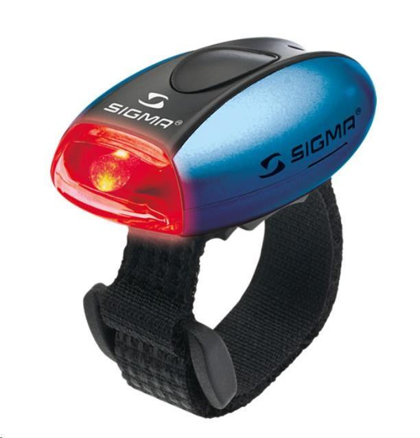 Sigma světlo na kolo MICRO modrá / zadní světlo LED-červená (17232)
