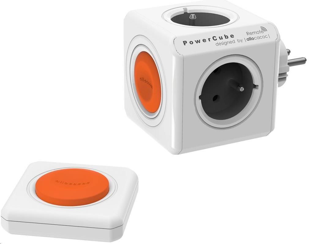 Allocacoc PowerCube Original Remote Set, white/grey (8718444087090)